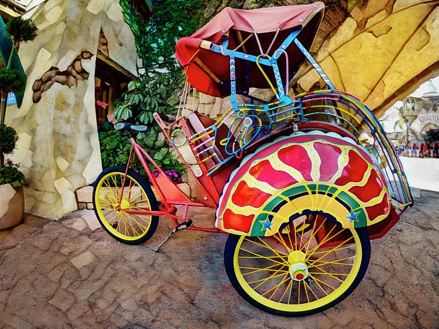 Rickshaw Bicycle GOPR3642 by Carlos Diaz