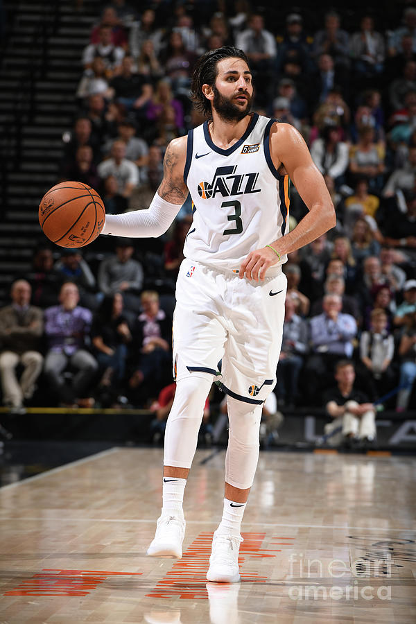 Ricky Rubio Photograph by Garrett Ellwood