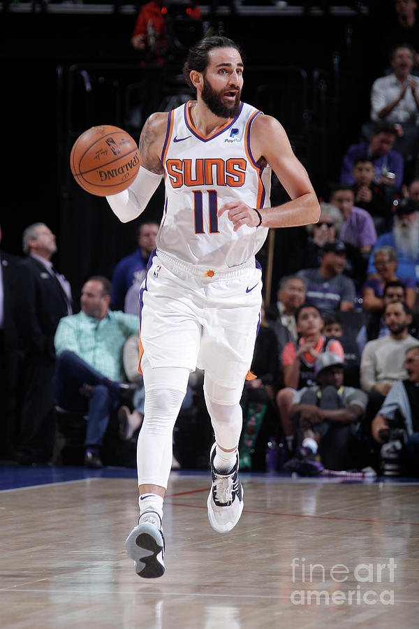 Ricky Rubio Photograph by Rocky Widner