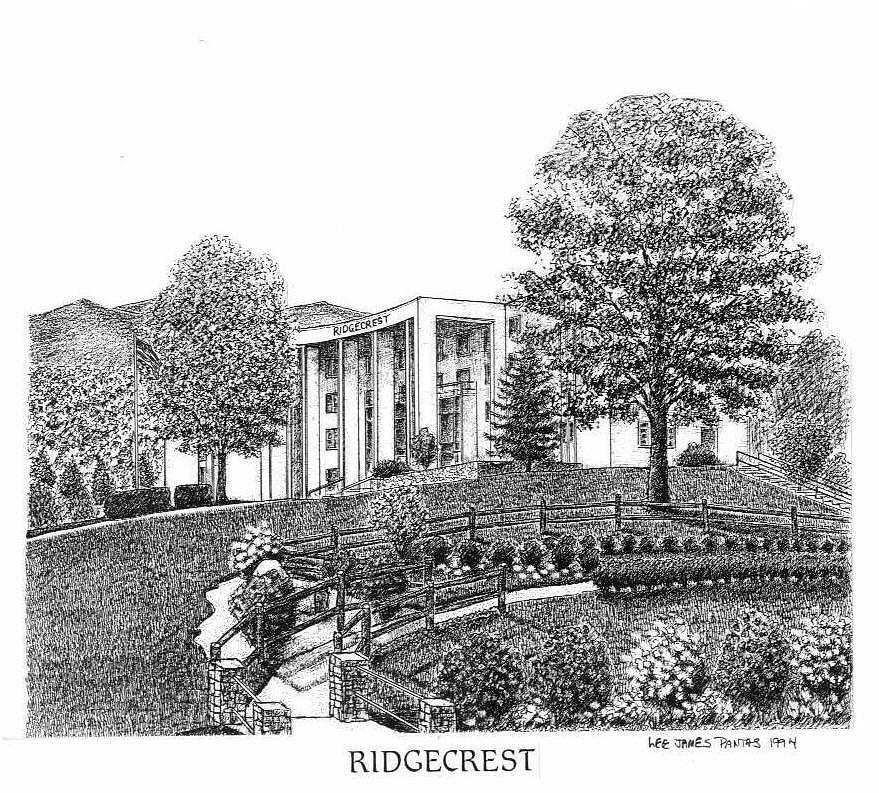 Ridgecrest Drawing - Ridgecrest by Lee Pantas