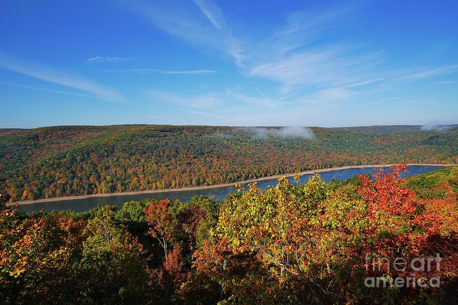 Rimrock Overlook Autumn Photograph