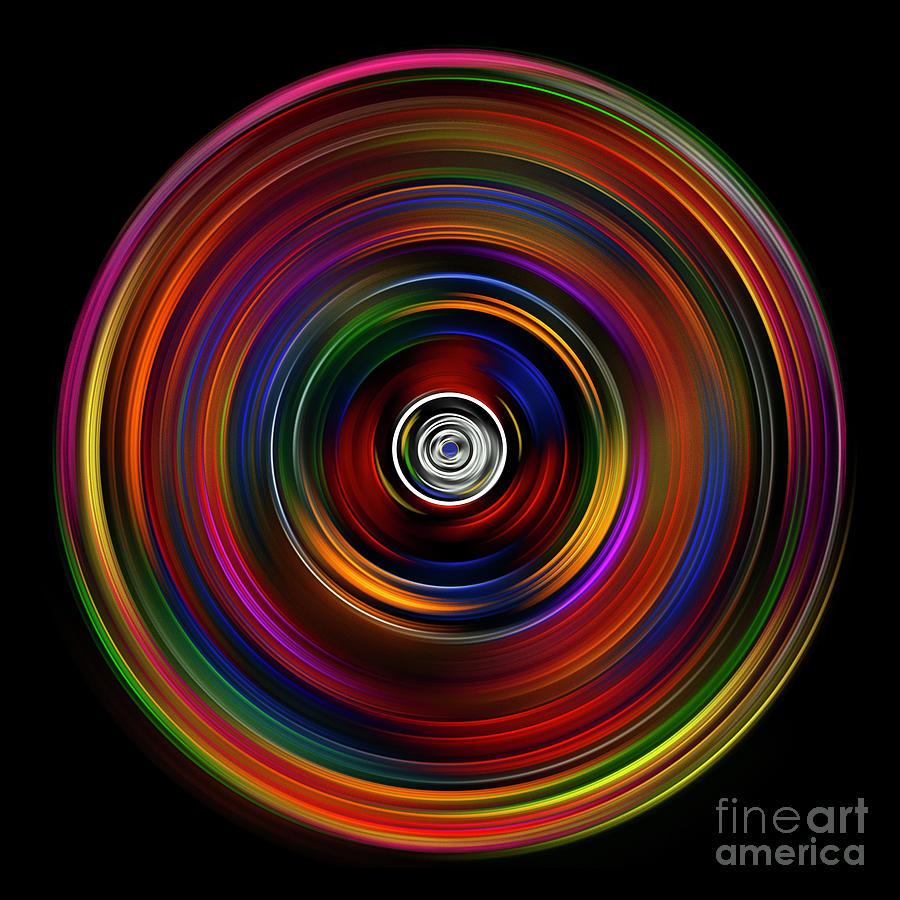 Rings Digital Art by Beth Achenbach