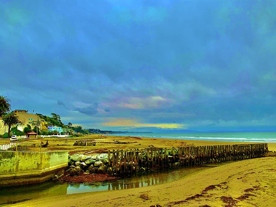 Rio Del Mar Winter Photograph