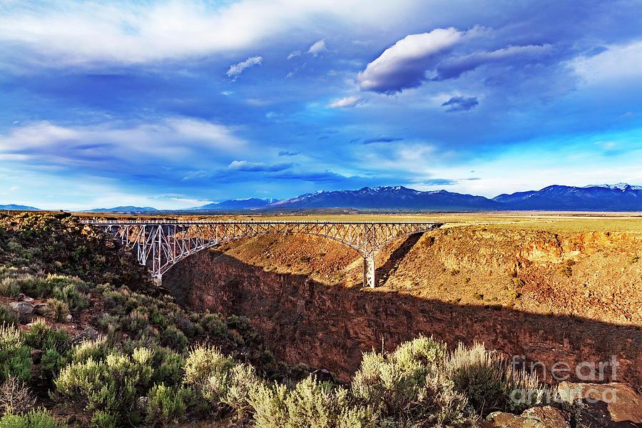 Rio Grande Gorge Bridge Photograph