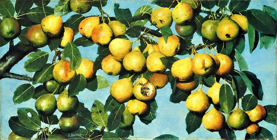 Ripening Pears Painting