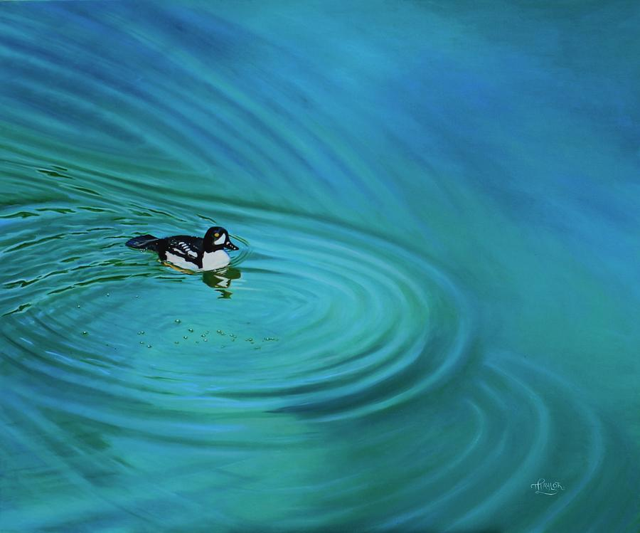 Ripples Painting by Tammy Taylor