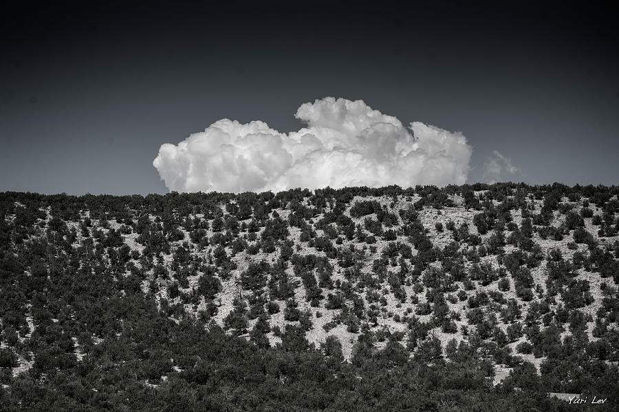Rising Cloud New Mexico Photograph