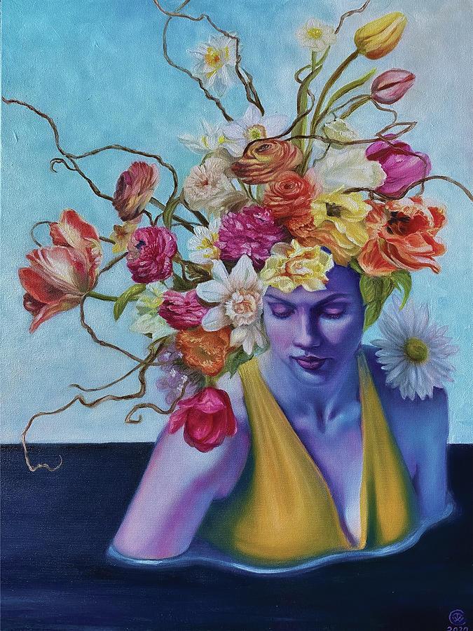 Rising Joy Painting by Teresa Carter