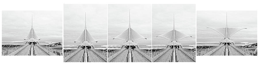 Rising of the Wings - Milwaukee Art Museum Photograph by Steven Ralser