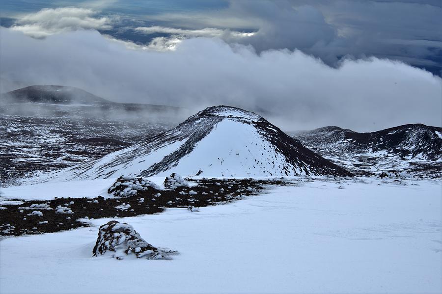 Rising Storm On Mauna Kea Photograph