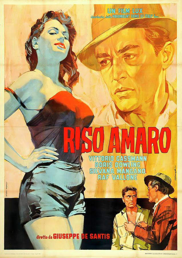 riso Amaro, 1949 Mixed Media
