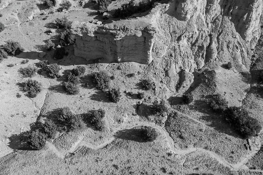 River Bed In New Mexico Photograph