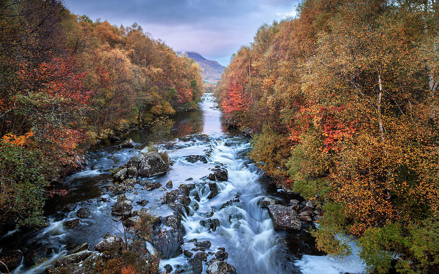 River Moriston In Autumn Hues Photograph