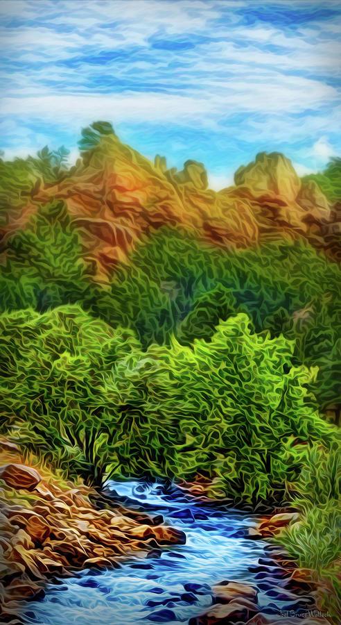 River Mountain Journey by Joel Bruce Wallach
