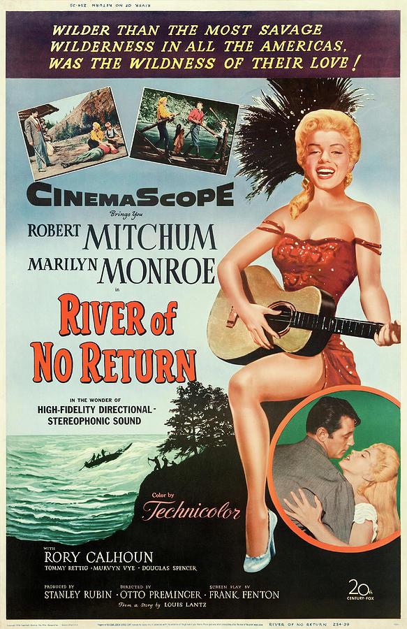 river Of No Return 1954 Mixed Media