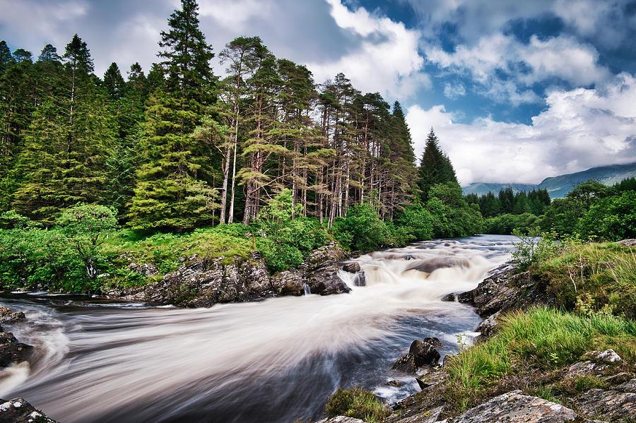 River Orchy Rapids - Scotland by Stuart Litoff