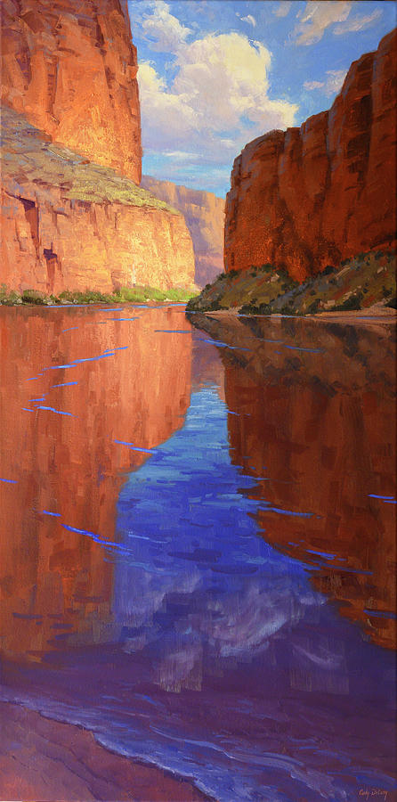 River Reflections Painting