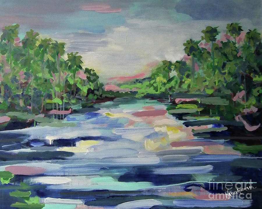 River Reflections Horizon by Kristen Abrahamson