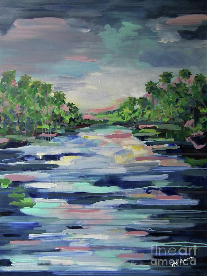 River Reflections by Kristen Abrahamson
