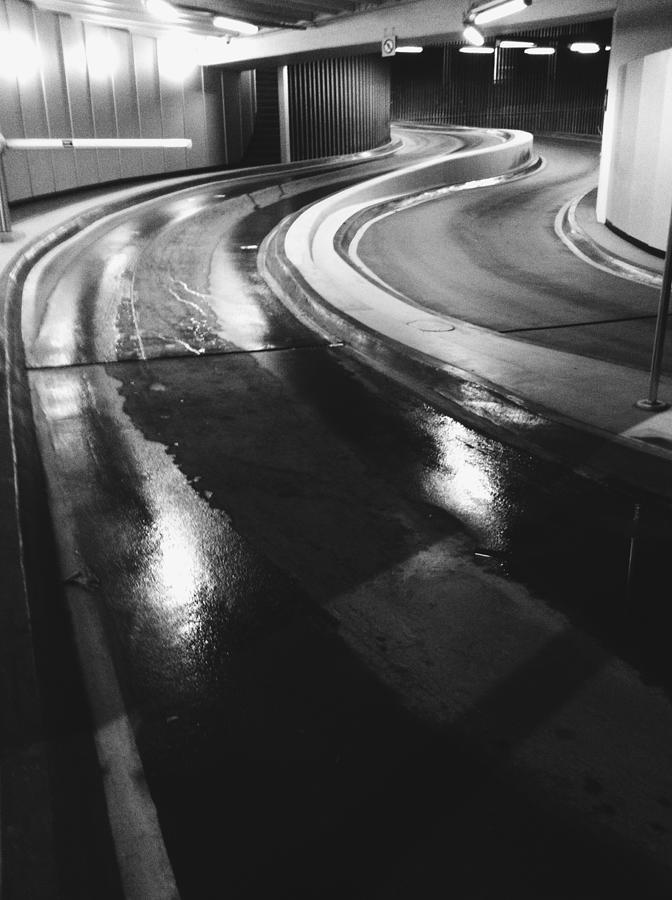 Road in tunel Photograph by Nikola Cywinska / FOAP
