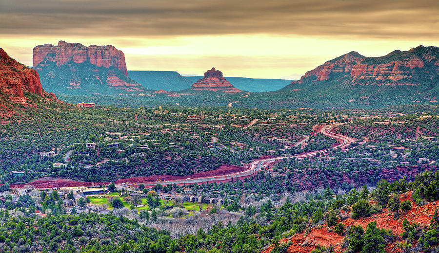 Road Through Red Rocks Photograph