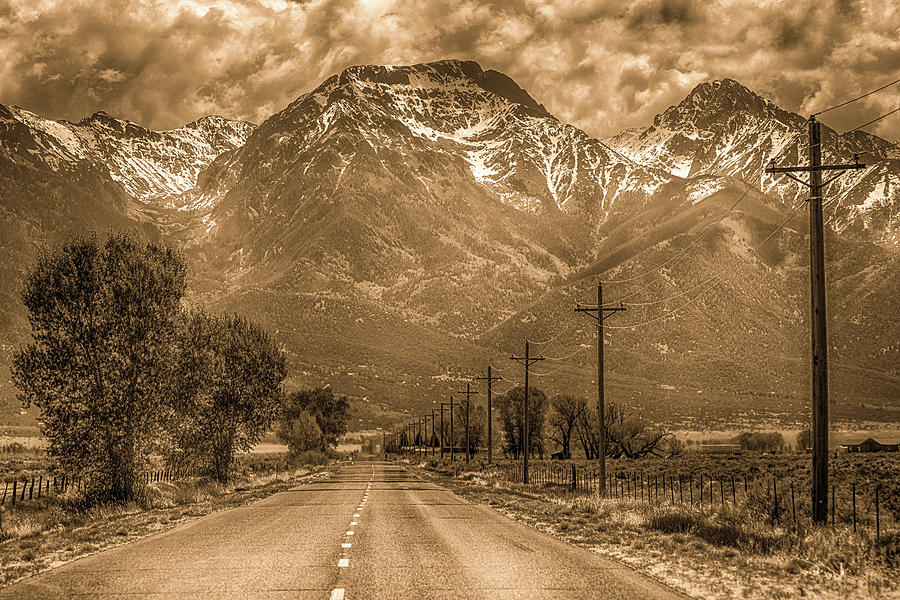 Road To Crestone Photograph