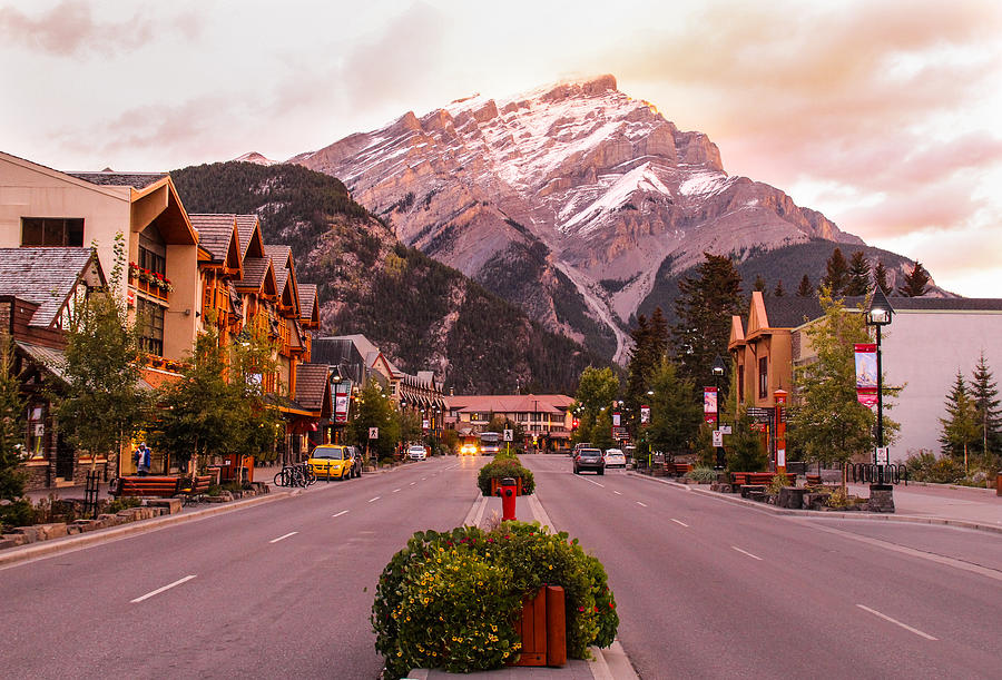 Roads Against Canadian Rockies Photograph by Byungsuk Ko / EyeEm
