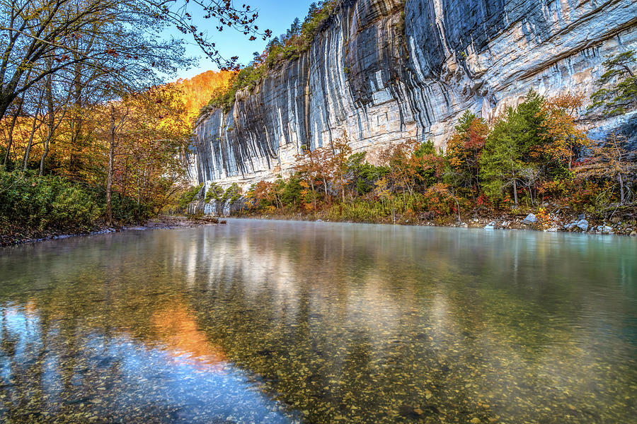 Roark Bluff And Buffalo River - Arkansas Natural State Photograph