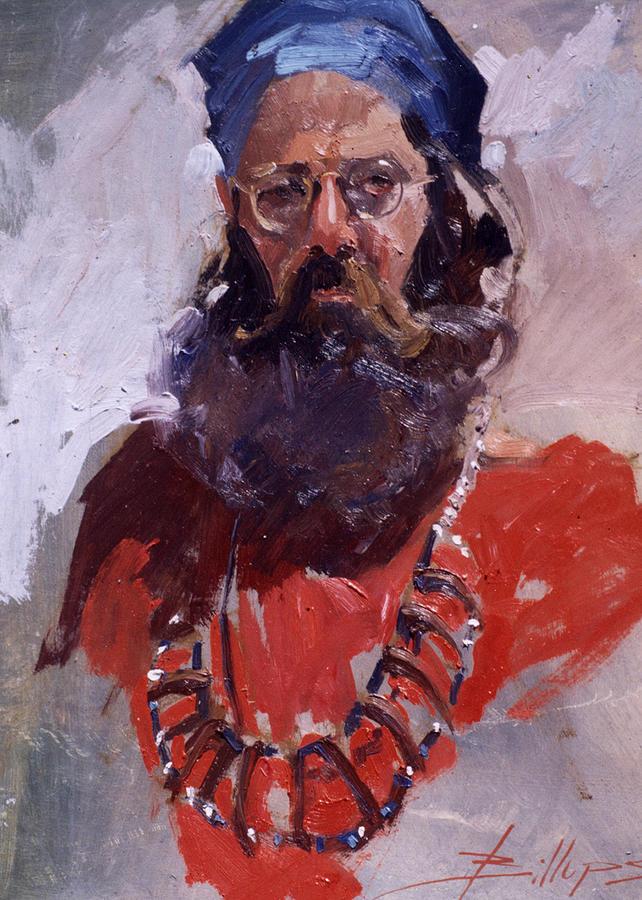 Robbie Painting by Betty Jean Billups