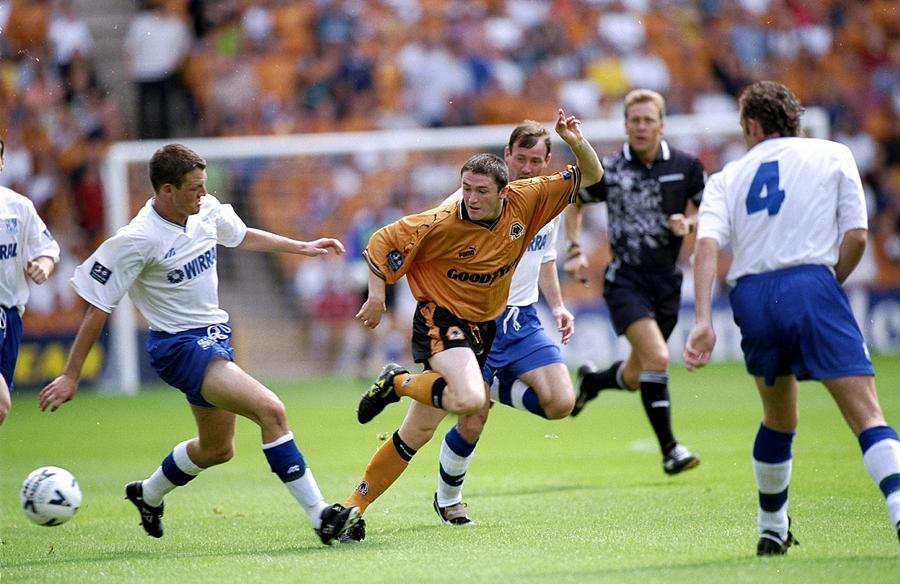 Robbie Keane of Wolverhampton Wanderers Photograph by Clive Brunskill