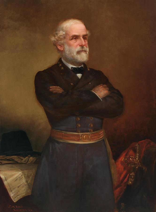 Robert E. Lee Painting by John Adams Elder