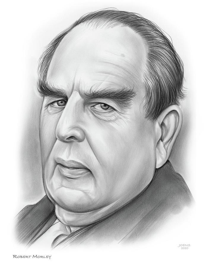 Robert Morley Drawing