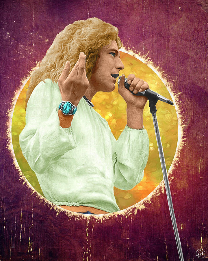 Robert Plant - Circle Series by Rick Wiles