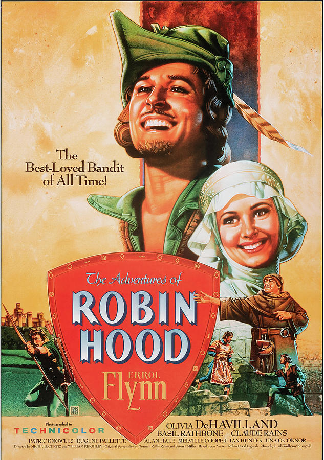 robin Hood 1938 Mixed Media