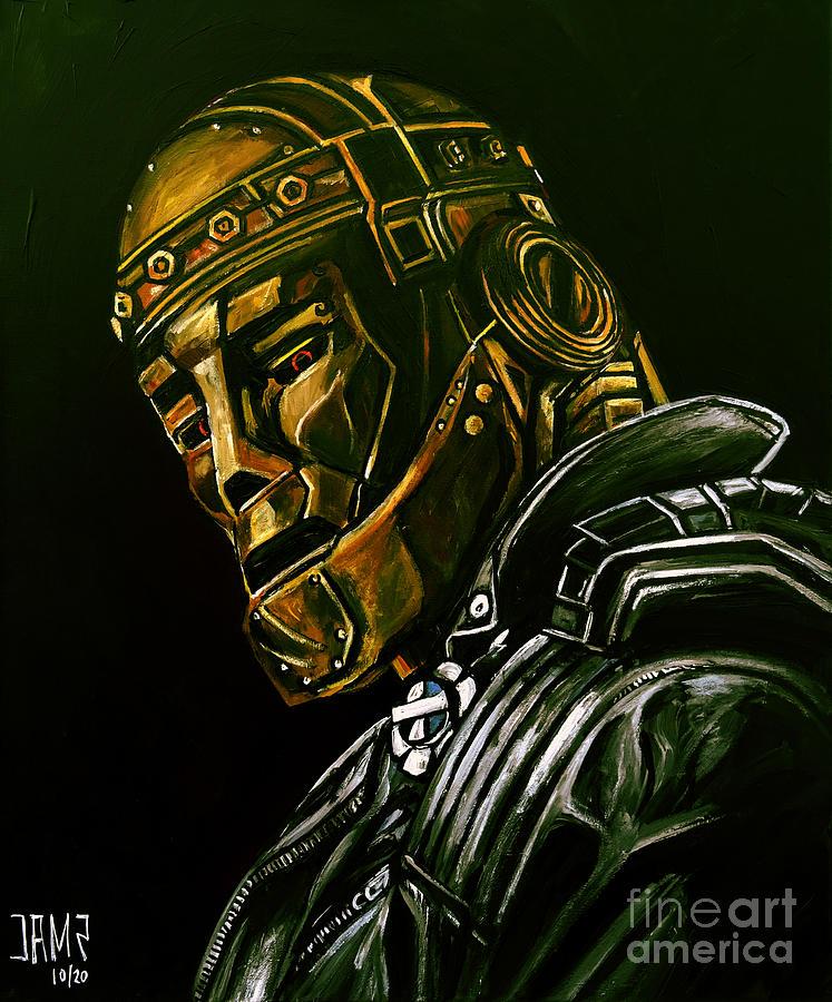 Robot Man Painting - Robot Man by Jose Mendez