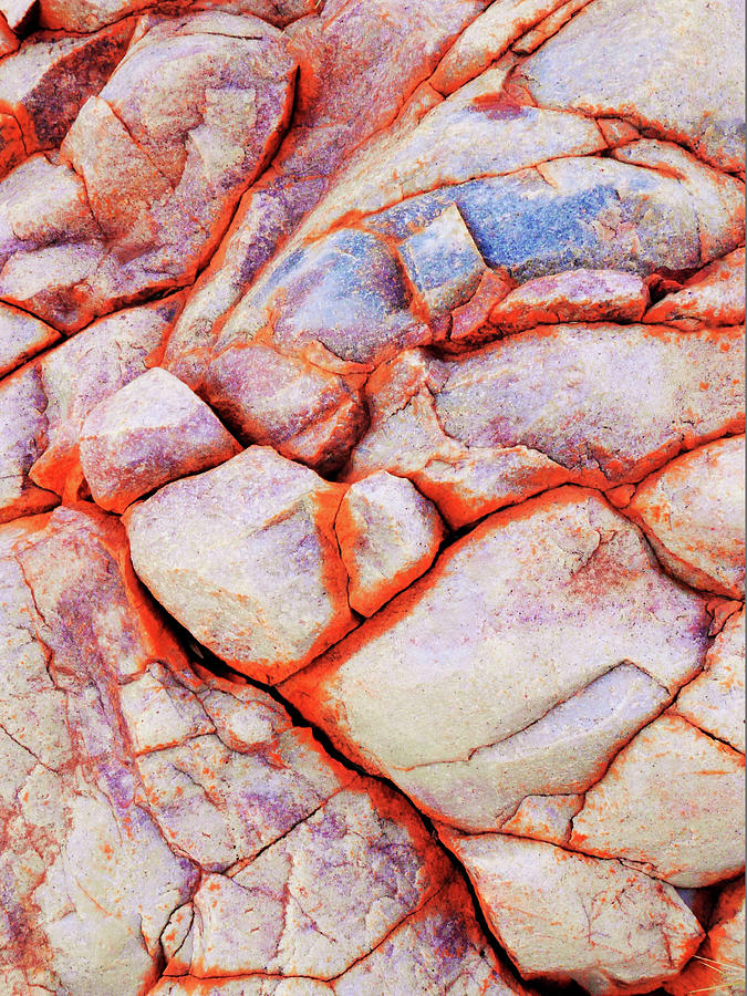 Series Photograph - Rock Abstracts Of Ormiston Gorge #13 by Lexa Harpell