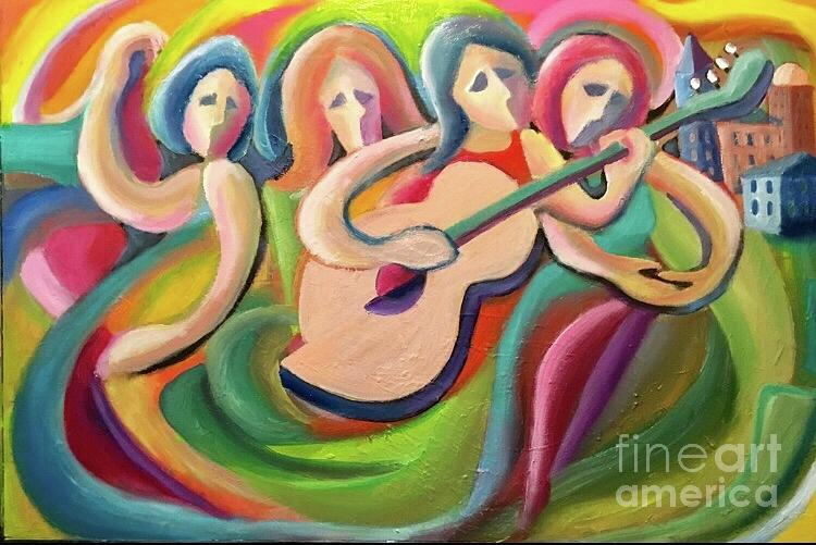 Rock and Roll  Painting by Mark Macko