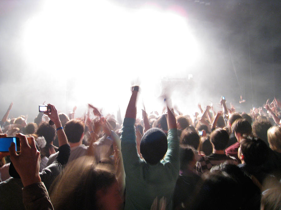 Rock Concert Photograph by Michael Bodge