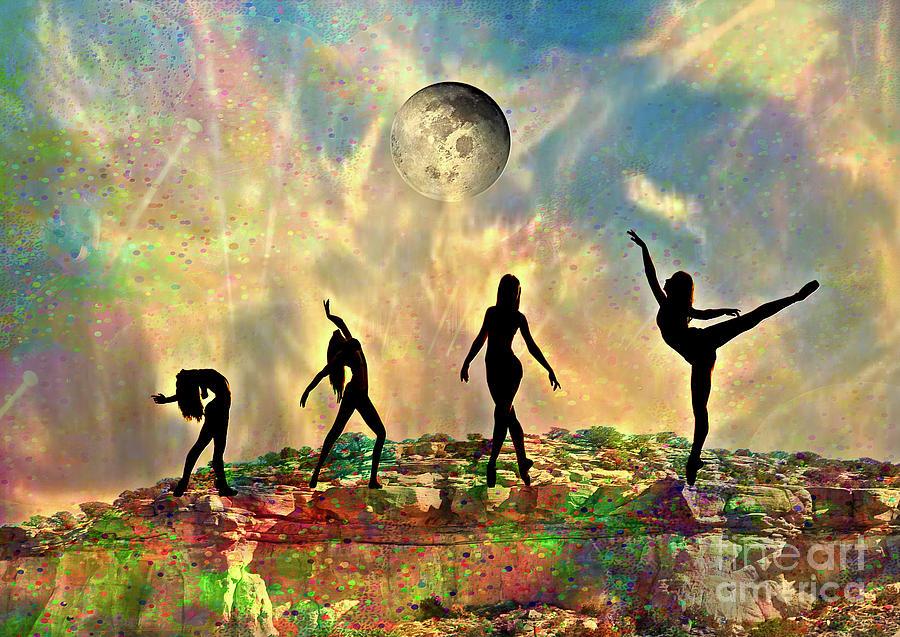 Rock Dancers Mixed Media