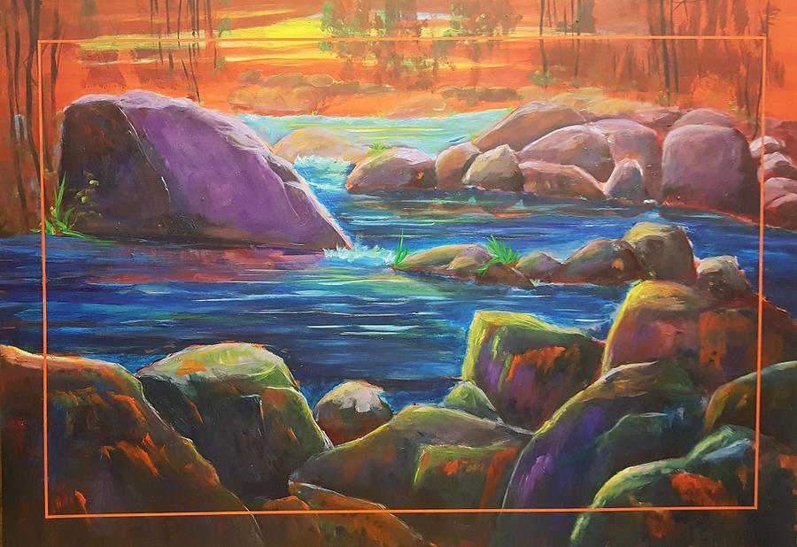 Rock Pond         2020.7 by Cheryl Nancy Ann Gordon