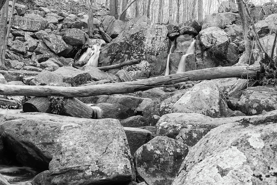 Hacklebarney State Park Photograph - Rock Slide by Kristopher Schoenleber