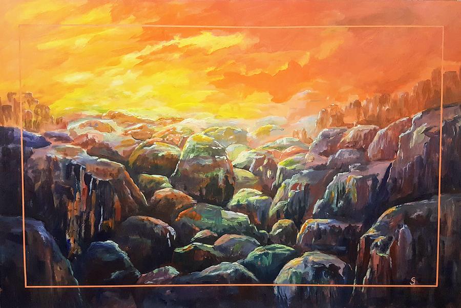 Rock Valley Large Format    2020.5 by Cheryl Nancy Ann Gordon