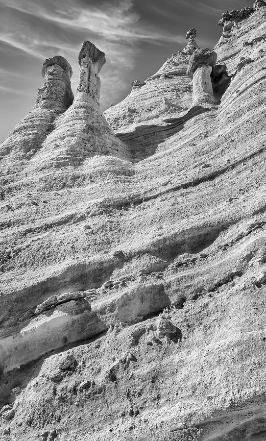Rock Wall At Kasha-katuwe Tent Rocks National Monument Photograph