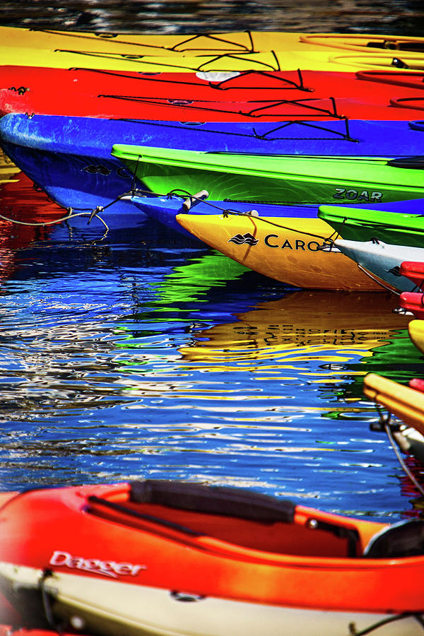 Rockport Summer kayaks by Jeff Folger