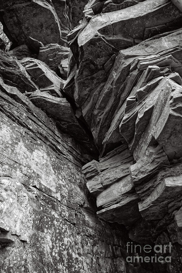 Nature Photograph - Rocky Cliff by Phil Perkins