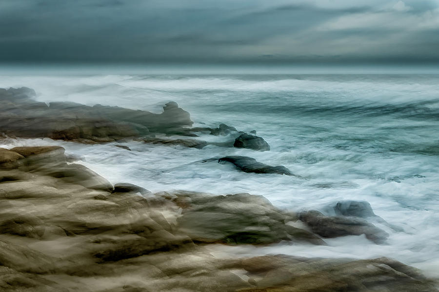 Rocky Coast in Florida by Charles LeRette