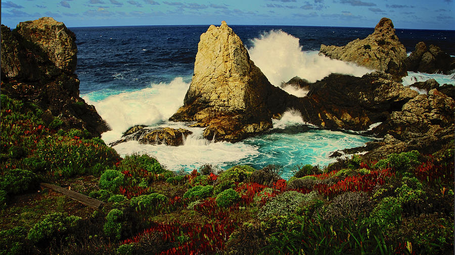 Rocky Point, Big Sur, California Photograph