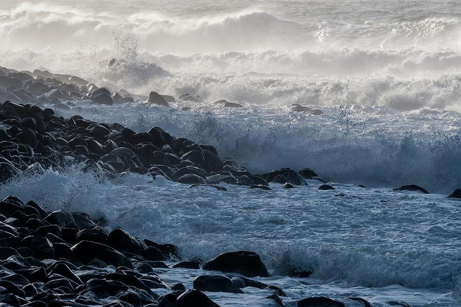 Rocky Shoreline by Robert Potts