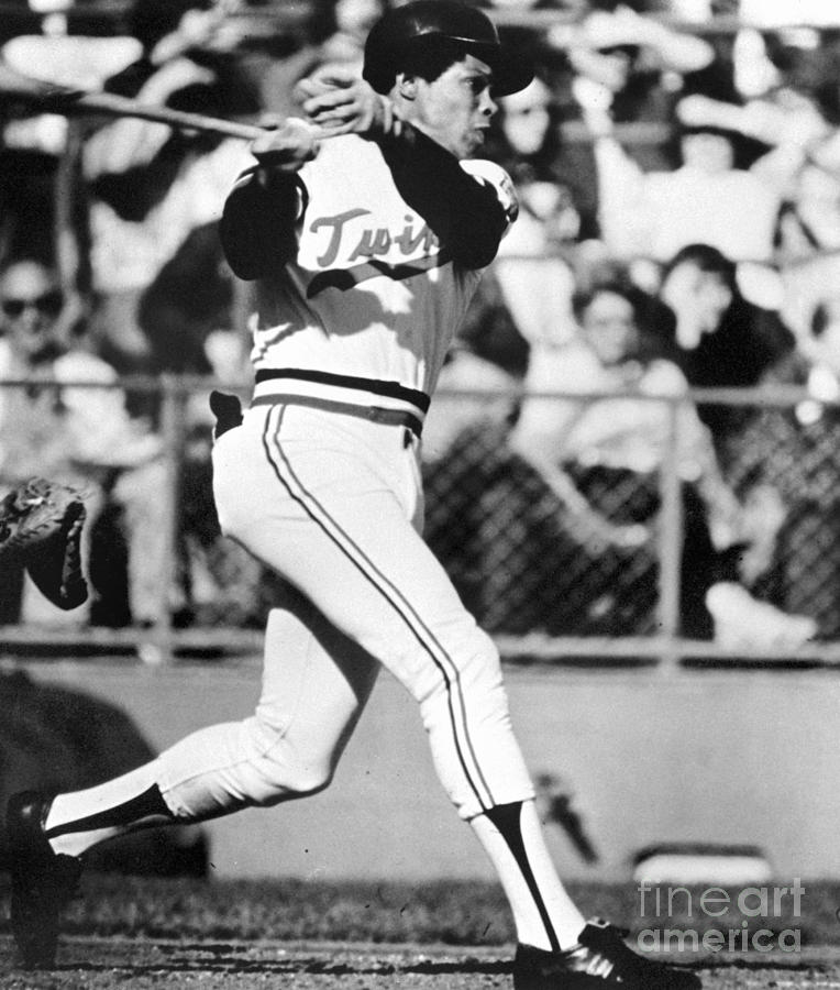 Rod Carew Photograph by National Baseball Hall Of Fame Library