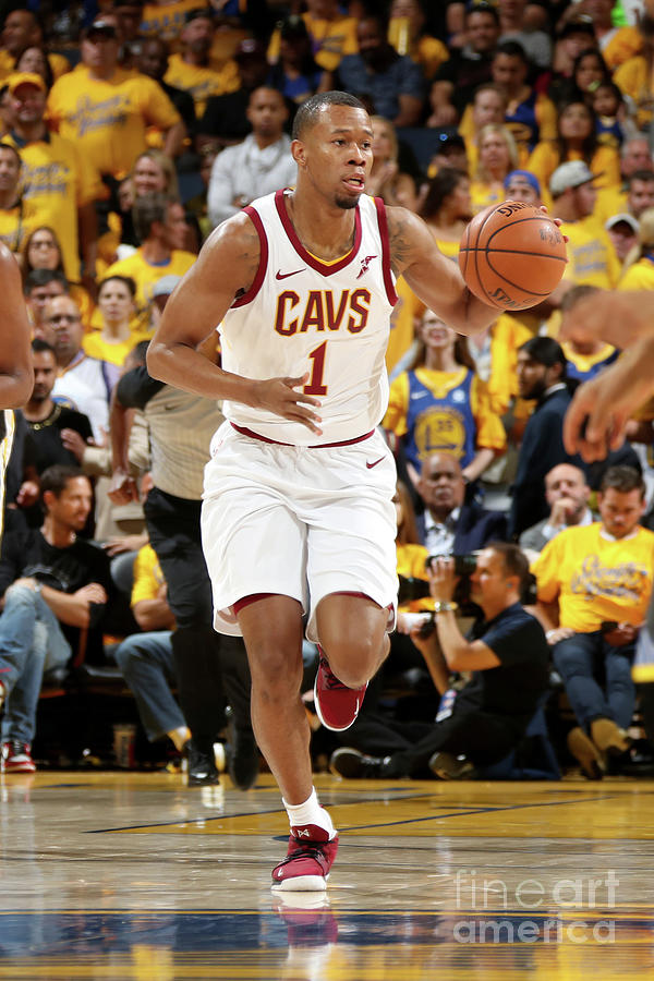 Rodney Hood Photograph by Nathaniel S. Butler